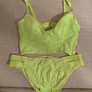 Victoria Secret Lime Green Bikini